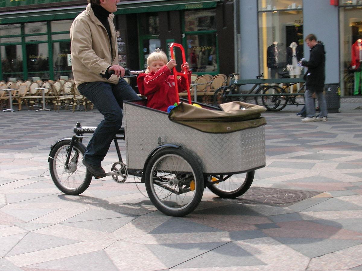 vélo cargo triporteur